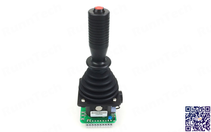RunnTech Dual Axis 4 to 20mA Y & X Axis with Full Free Range Motion Joystick Controller
