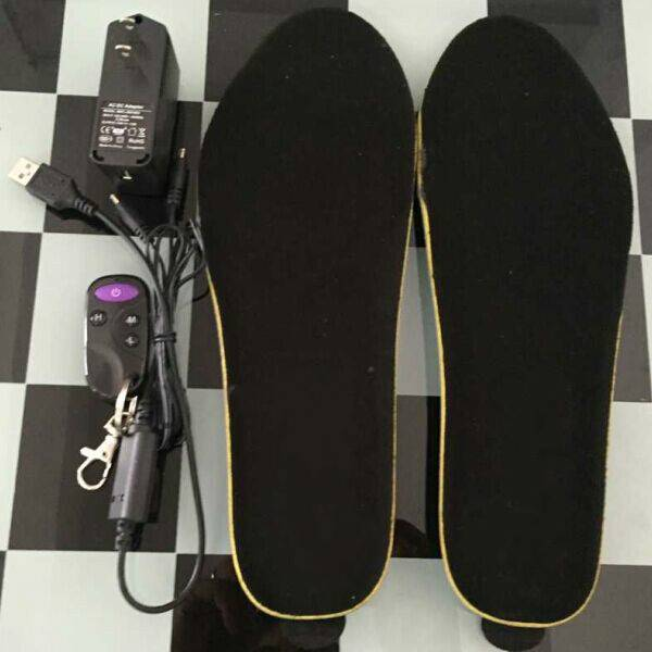 Remote Control Rechargeable Heated Insole Electric Heated Insole Battery Heated Insole