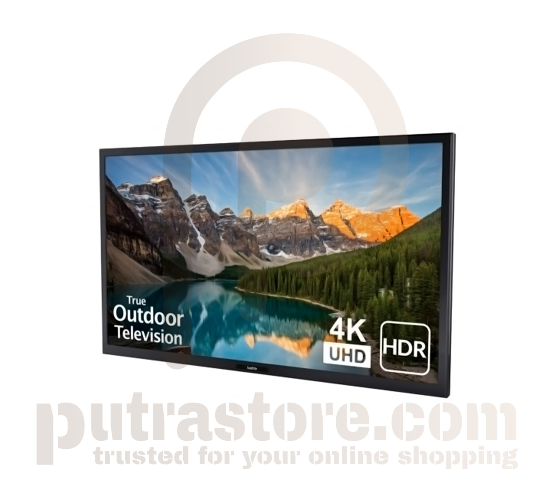 "SunBriteTV 65"" Black Veranda Series Outdoor 4K HDR UHD TV"