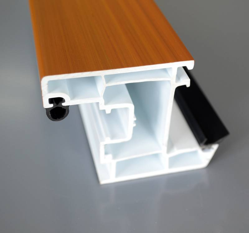 German Style UPVC Plastic Window Door Profiles