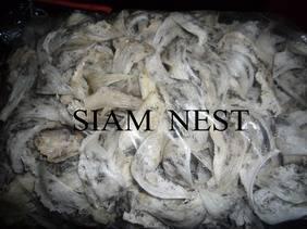 Unprocess (raw) white house bird's nest