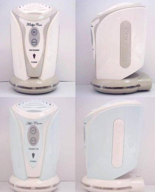 Ionic Freshener & Deodorizer, Mini Ionizer Fan with Aroma Diffuser
