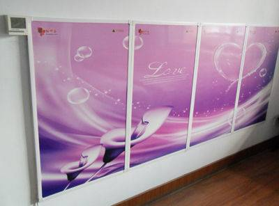 hot sale carbon crystal infrared heating panel electric room heater