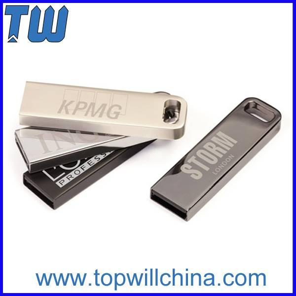 Slim Metal Usb 3.0 Flash Drive Free Laser Printing