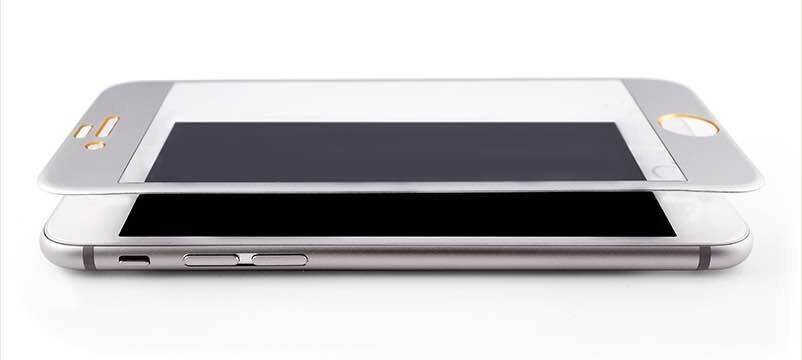 Full covered tempered glass screen protector for iPhone 6 plus