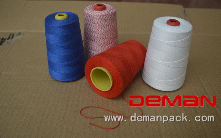 Portable bag closer thread for Fischbein Newlong