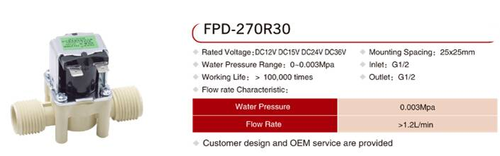 FPD-270R30 PPO material solenoid valve