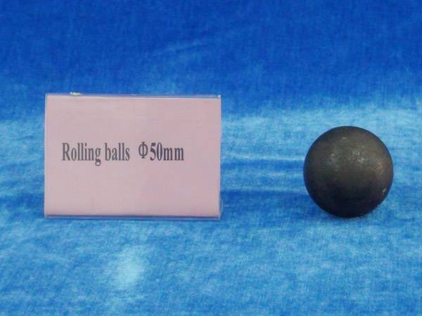 Rolling steel ball 50mm
