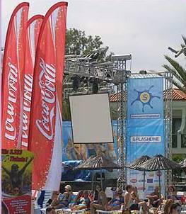 Beach Wing,beach Flag,advertising Banner