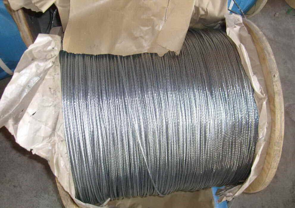 FC, IWRC or IWSC steel wire rope