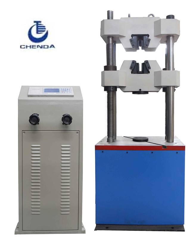 WE-600B LCD Display Hydraulic Universal Materials Testing Machine+steel material tester