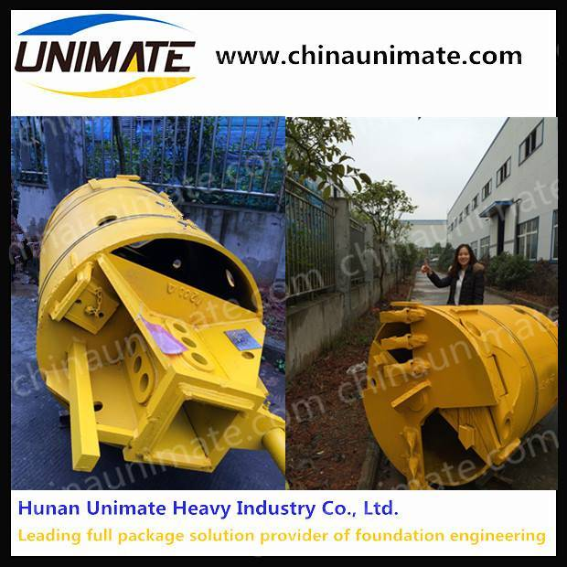 hard soil layer drilling bucket
