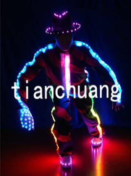 Robot Jazz Hiphop LED Apparel LED Costumes
