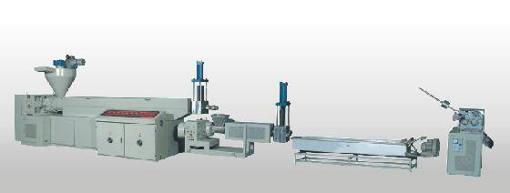 Master And Secondary Pelletizing Machine Group For Recycling Waste Plastics