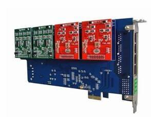 SinoV-1200E PCI-E Asterisk card