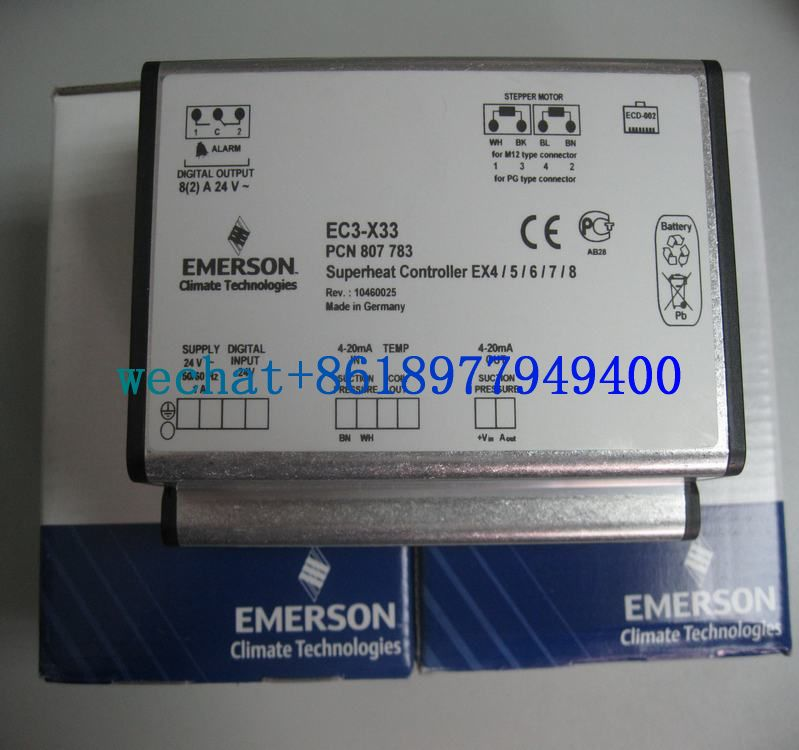 Types EC3-X33/PCN807783 EMERSON Superheat Controllers