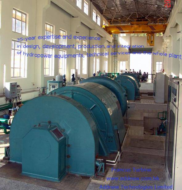 An EXPERT in Equipments and Solutions for Hydropower Plants