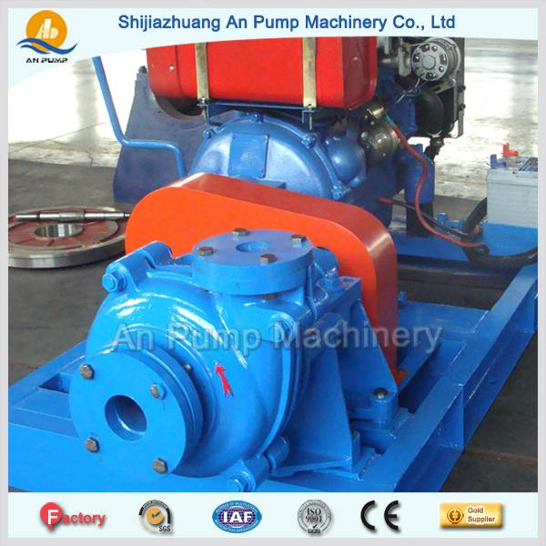 Acid resistant high chrome alloy slurry pump