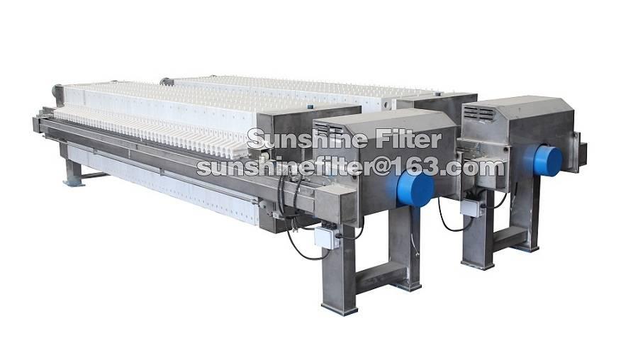 S.S.filter press