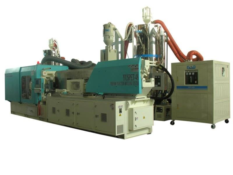 High speed PET&PP injection machine
