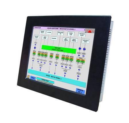 15 inches Fanless industrial touch panel Computer IEC-615p