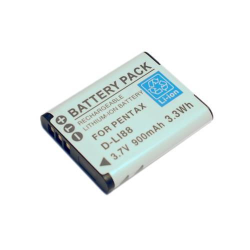 Camera Battery D-Li88 for Pentax Optio H90