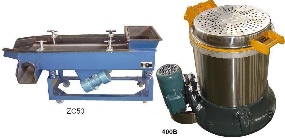 Centrifugal Dryer & vibratory separator