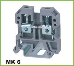 Din-rail Terminal Wire arrage:0.2-6mm2 Part No.WS6
