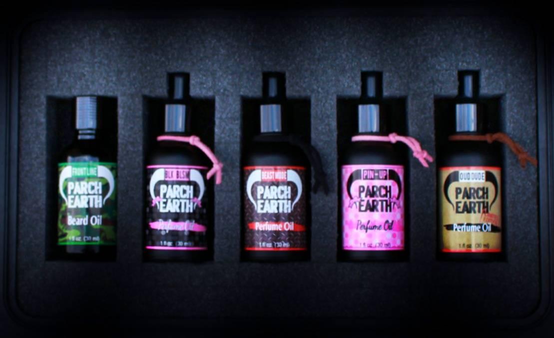 perfume oil and matching Natural Soap Sets