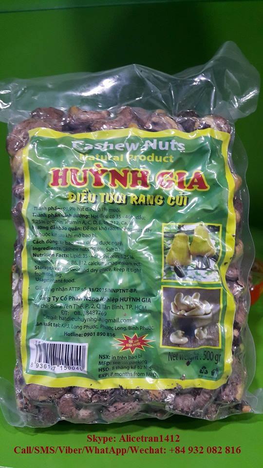 Salted Cashew Nuts Bulk
