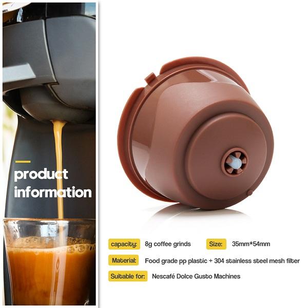 reusable coffee capsules rich crema
