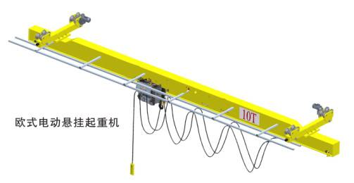 LX Model Single-girder Suspension Electric Crane
