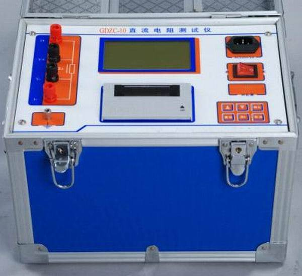 GDZC Transformer Winding Resistance Tester / DC Resistance Tester