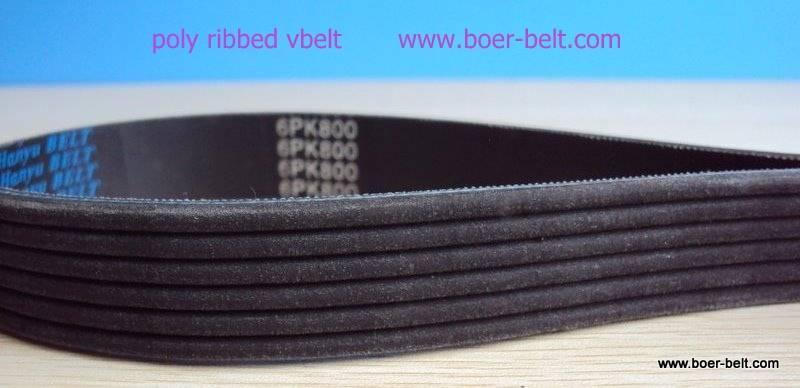 ribbed v belt for car