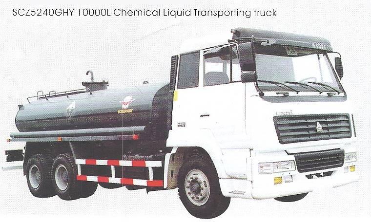 Chemical Liquid Transporting Truck