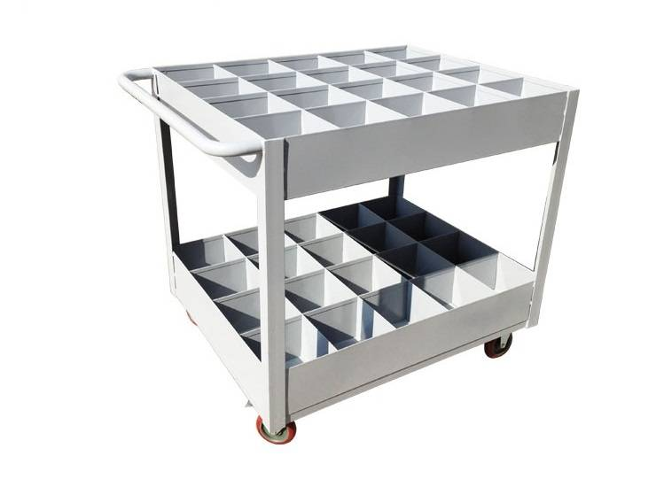 Single handle material sorting shelf tolleys RCA-S01