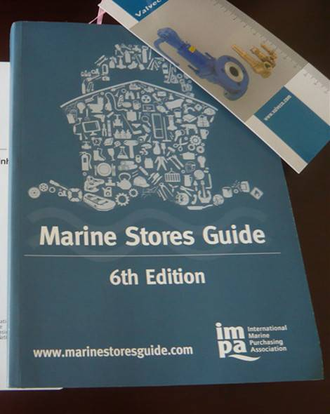 6th Edition Marine Stores Guide (IMPA, blue page)