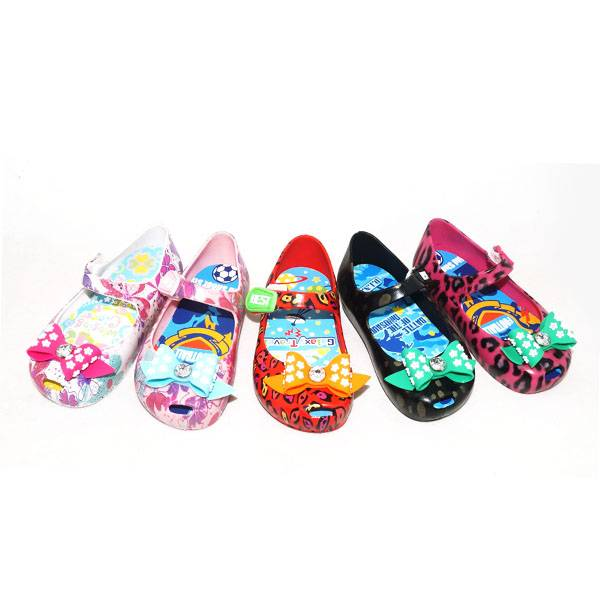 PVC Children Shoes Sandals Slippers Flip Flops Jelly Shoes BIP7112A