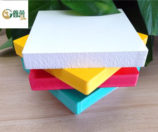 1.2m2.4m with 5-30mmmm thickness Plastic PVC Foam Board for advertisement