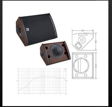 2-way coaxial full range loudspeaker system CV-10M