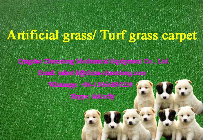 PE Plastic grass mat production line