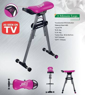 3 Minute Legs/Leg Shaper Exerciser with Counter hot sale 2010