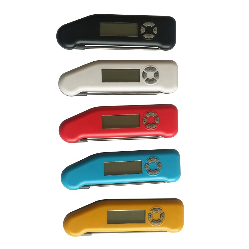 digital thermometer with stainless steel probe