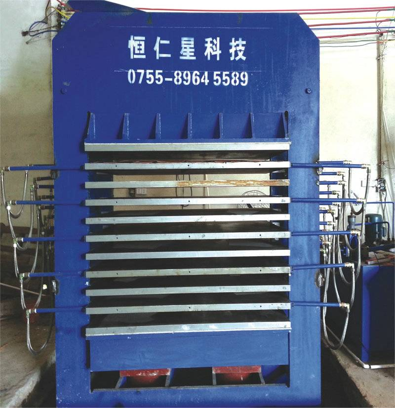 Hot Press for Paperboard Making, Wood, Electron Industry