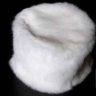 Tubby Rabbit Fur Cap