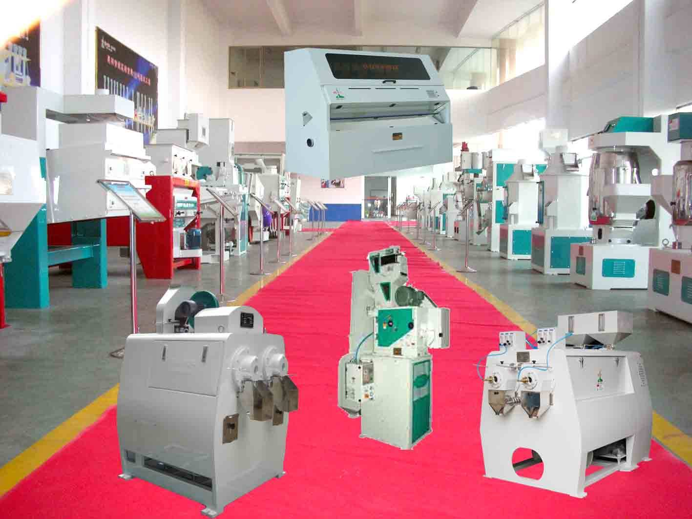 rice milling machinery, rice milling plant