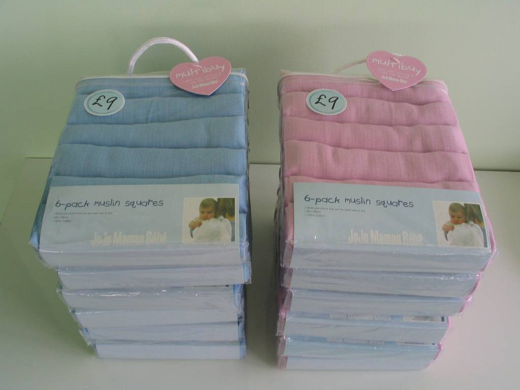 100% Cotton Washable Diapers