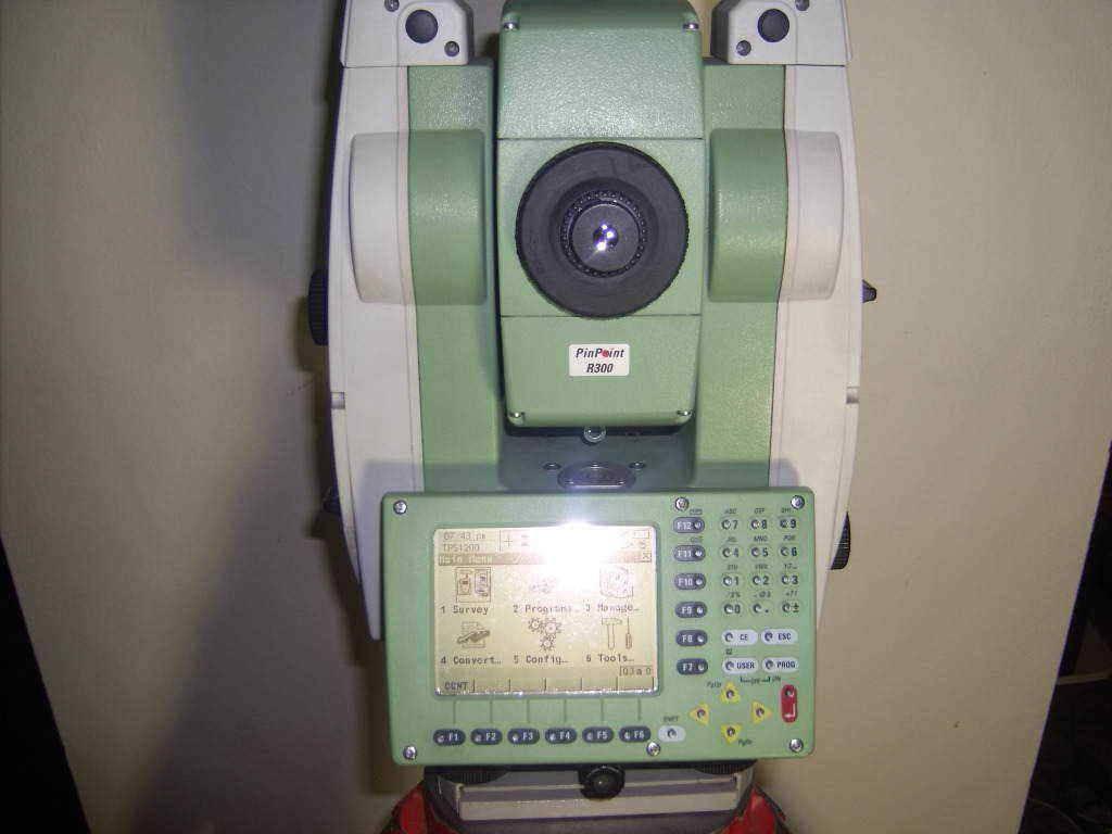 Leica TCRP 1203 R300 Robotics Total Station
