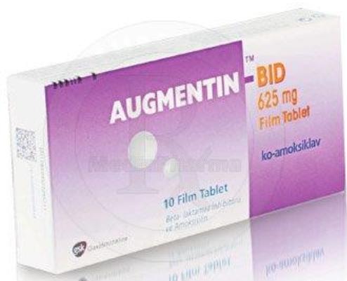 AUGMENTIN BID 625 mg film tablet