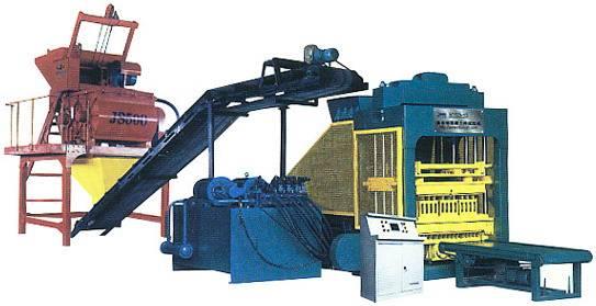 hydraulic type concrete brick making machine GL4-20